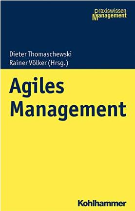 """Herausgeberband: """"Agiles Management"""" erschienen"""